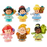 Fisher-Price Little People Disney Princess Gift Set (6 Pack) [Amazon Exclusive]