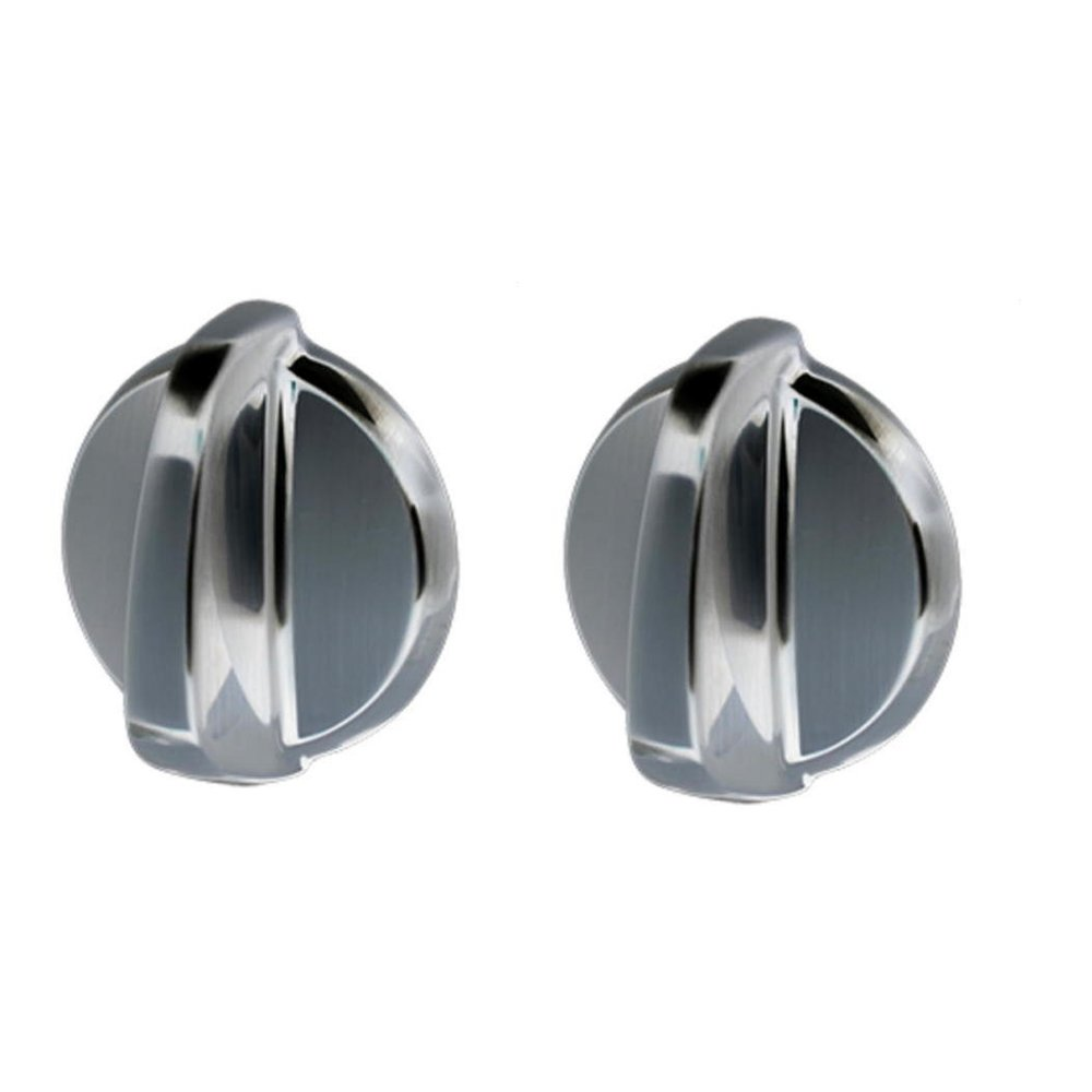 Ximoon 2 Pack WB03T10284 Plastic Knob for General Electric GE Stove AP4346312, 1373043, AH2321076, EA2321076, PS2321076.