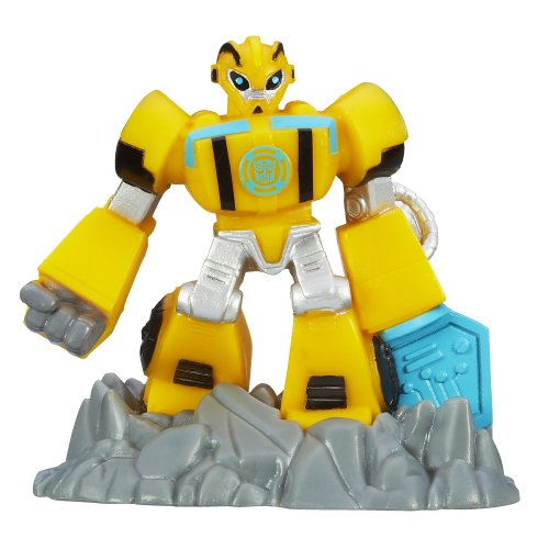 Transformers Playskool Heroes Rescue Bots Beam Box Bumblebee Game Pack (Box Rescue)