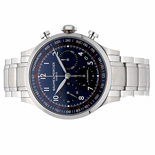 Baume-Mercier-Capeland-automatic-self-wind-mens-Watch-10066-Certified-Pre-owned