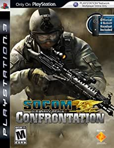 Socom US Navy Seals: Confrontation with Headset - PlayStation 3