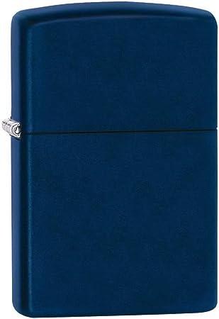 Zippo Navy Blue Mechero, Metal, Azul, 3.5x1x5.5 cm: Amazon.es: Hogar