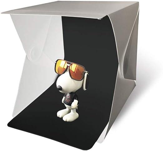 SHENXX Caja de Luz Fotografia, Mini Caja luz portatil 24x24x24cm ...