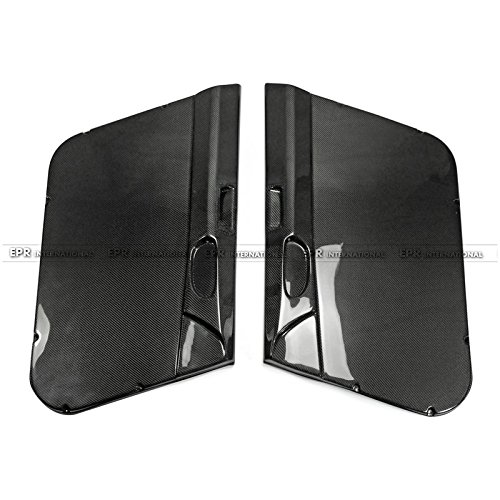(Carbon Fiber For Honda Civic FD2 Front Inner Door Card Panel Pair (Left Hand Drive))