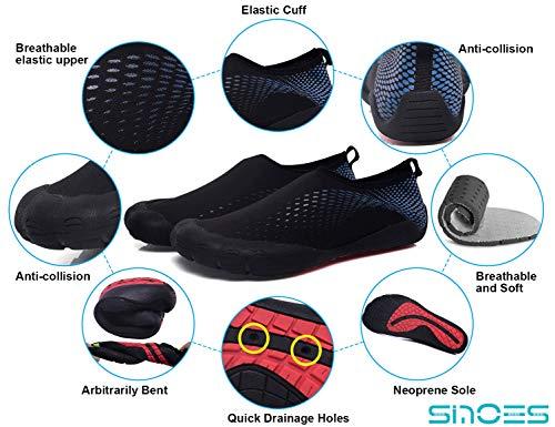 Deportes Calcetines Secado Negro Aqua Pareja Azul Yoga N80 Acuáticos Agua Para Mujer Rápido Libre Zapatos Playa Aire De Sinoes Ocio Deportivos Calzado Hombre Descalzos xq0BTwOF