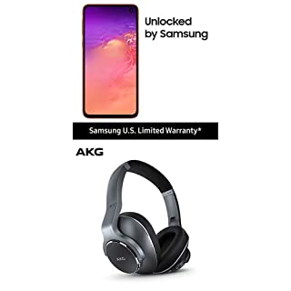 Samsung Galaxy S10e Factory Unlocked Phone with 128GB (U.S. Warranty), Flamingo Pink w/AKG N700NC Headphones
