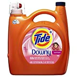Tide Plus Downy HE April Fresh Scent Liquid Laundry Detergent 138 Fl. Oz (89 Loads)
