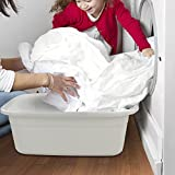 Fiaze 2-Pack Multi Purpose Washing Basin, Plastic