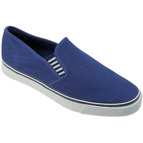 Mirak Yachtmaster Damen Leinen Schuhe Marineblau
