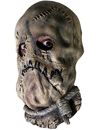 (Rubie's Men's Batman The Dark Knight Scarecrow Mask, Multicolor, One)