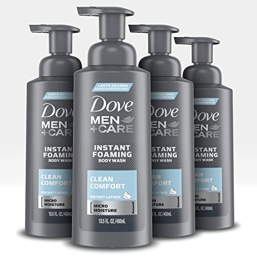 Dove Men+Care Foaming Body Wash to Hydrate Skin Clean Comfort Effectively Washes Away Bacteria While Nourishing Your…