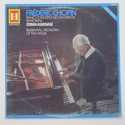 Residential Vinyl - Frederic Chopin: Piano Concerto No. 1 in E Minor / Krakowiak / Stefan Askenase, Residential Orchestra of the Hague