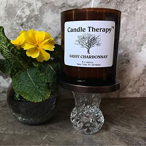- Sassy Chardonnay Soy Cocktail Scented Candle | Aromatherapy Candle | Luxury Spa Candle | Massage Wax Candle | Housewarming Thank You Gift | Burn Time 45-50 Hours