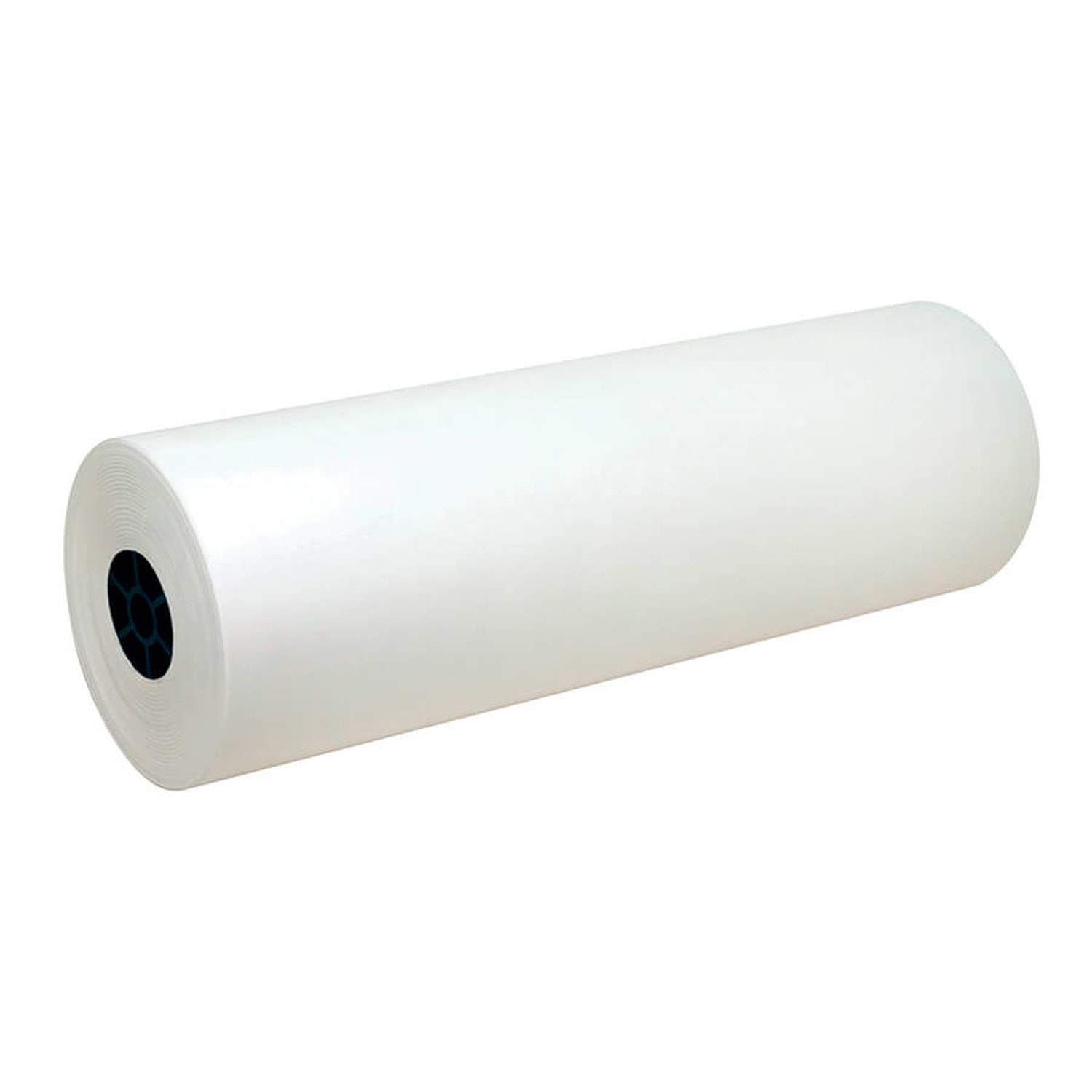 Pacon PAC5624 Lightweight Kraft Roll, White, 24'' x 1000', 1 Roll by PACON