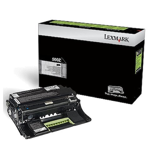 Toner Photoconductor Drum - Genuine Lexmark 500Z Imaging Unit [60,000 Pages]