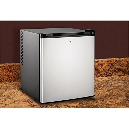 Culinair Af100s 1.7-Cubic Foot Compact Refrigerator, Silver and Black by Culinair (Image #3)