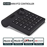 PTZ Keyboard,LEFTEK Analog Camera RS485 Controller Mini PTZ Jorystick With LCD Screen Display Menu