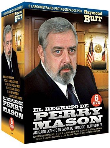 El Regreso de Perry Mason (Perry Mason Returns) 1985-1987 Box Set 6 DVDs[Non-usa Format: Pal -Import- Spain] (Perry Mason Case Of The Shooting Star)