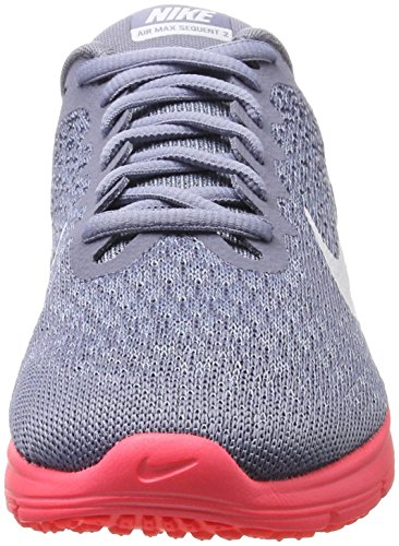 Sequent Red Shoes Women's Sky Air Max solar NIKE Blue Grey Dark thunder Blue White 2 Running qFUtWwf