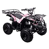 Coolster ARMY PINK 3125R New 125CC Kids ATV Fully Auto with Reverse