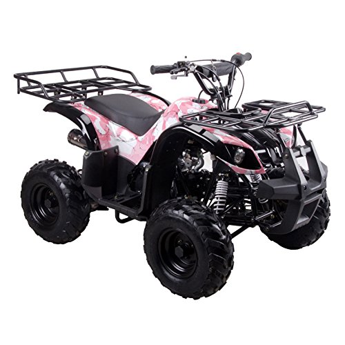 Coolster ARMY PINK 3125R New 125CC Kids ATV Fully Auto with Reverse by CRT MOTOR INC -US (Image #6)