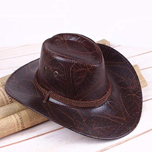 Grinders Poker Shop Game Red Dead Redemption 2 Cowboy Hat Cosplay Costume Prop Hats Leather - Cowboys Poker