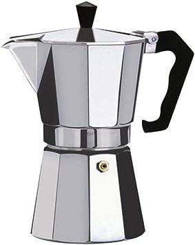 Leoboone Cafetera Aluminio Mocha Espresso Percolator Pot Cafetera Moka Pot Espresso Shot Maker M/áquina de Espresso