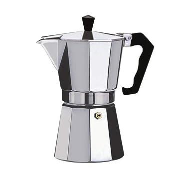 Leoboone Cafetera Aluminio Mocha Espresso Percolator Pot ...