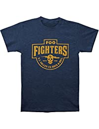 Foo Fighters Men's S.F. Valley Slim Fit T-shirt XX-Large Heather Navy