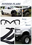 OE Style ABS Black Fender Flares   4pcs   For 1999-2006 Chevy Silverado/07 Classic Model