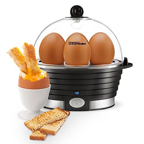 Sensio Home Electric Egg Cooker, Boiler, Poacher, Omelette Maker with...