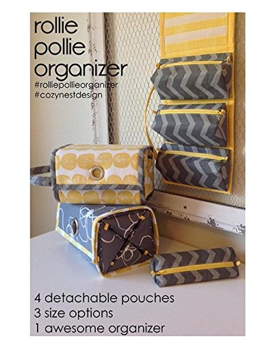 Sewing Pattern Toiletry Bag - 1