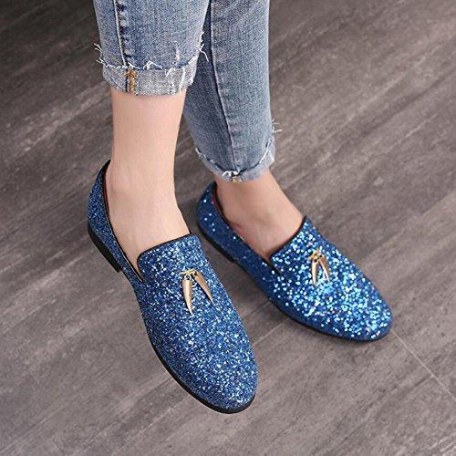 Latino Ballo Xue Da Con In Un Donna Tacco Basso Scarpe Dimensione scarpe Evening Party 40 Sandalo B colore Raso amp; q1qftpn