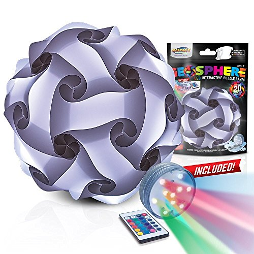 GEOSPHERE 12 - 30 pc White Lamp Kit complete with wireless LED light