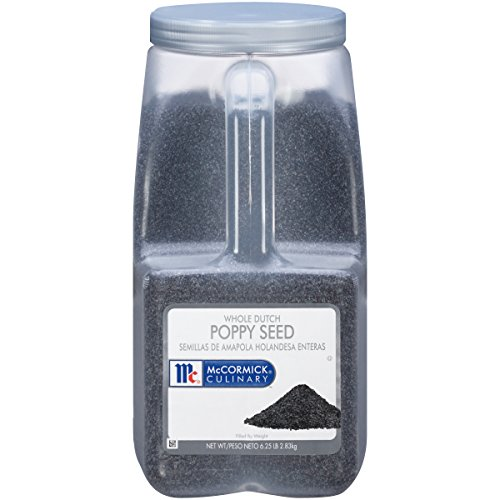 Price comparison product image McCormick Culinary Whole Dutch Poppy Seed,  6.25 lb
