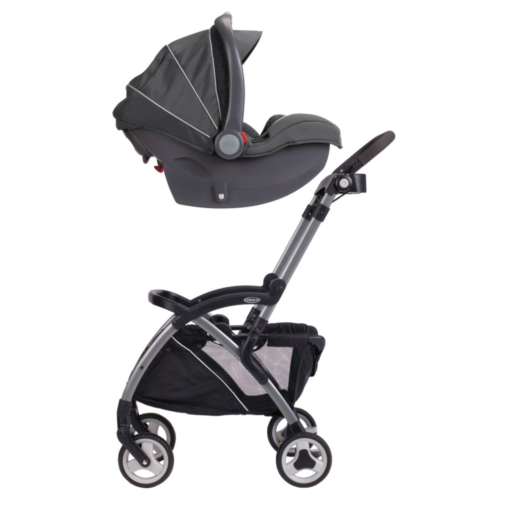 Amazon.com : Graco SnugRider Elite Stroller and Car Seat Carrier ...
