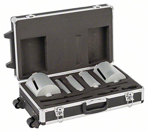 Bosch 2608587007 Diamond Dry Drill Bit Set 1/2-Inch 38 / 52 / 65 / 117 / 127 x 150 mm