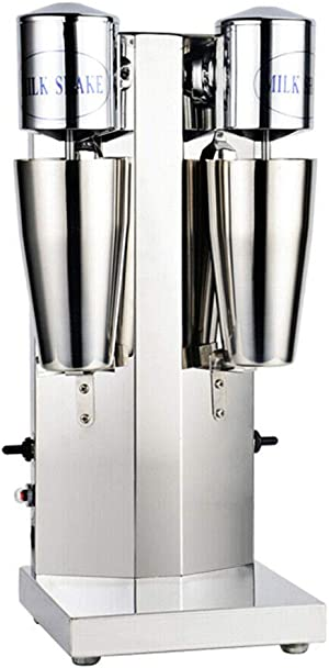 Electric Milkshake Maker, 110V 18000RMP Commercial Stainless Steel Milk Shake Machine Speed Adjustable Drink Mixer Used To Make Smoothies and Milk Foam