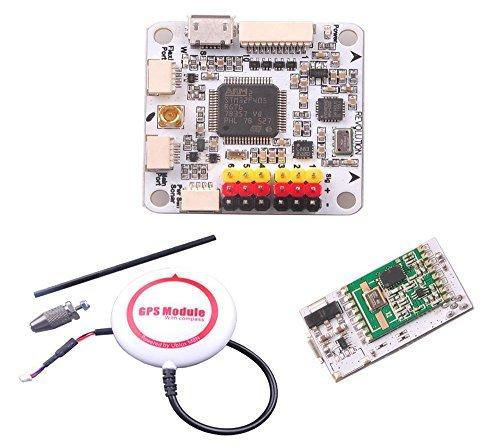 QWinOut OpenPiolot CC3D Revolution Flight Controller + OPLINK MINI Transceiver TX RX + M8N GPS Compass DIY FPV Drone by Qwinout