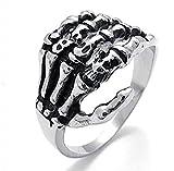 Walmart Black Friday 2016 Ads Best Deals - MoAndy Men Stainless Steel Vintage Gothic Biker Claw,Wedding Ring,Silver