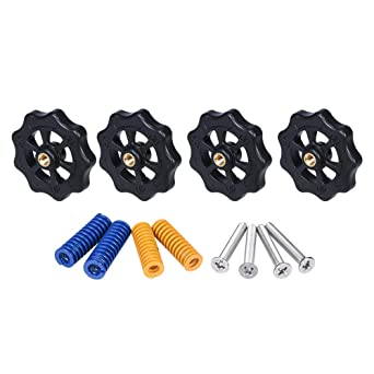 4PCS 3D Printer Accessories CR10 Hot Bed Leveling Nut Ender3 Hand Screw Nut Scre