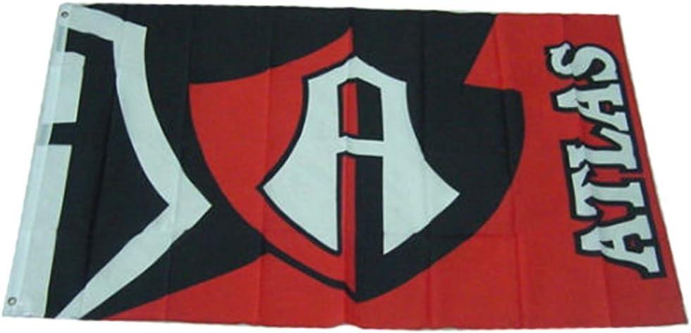 ACCmall Club Atlas 3 ft x 5 ft Mexican Soccer Futbol Flag 3'x5' Polyester Banner Flags