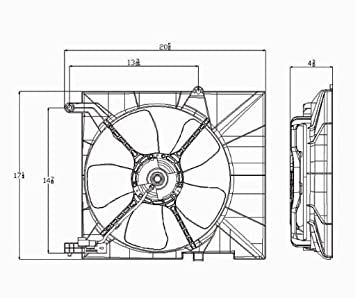 amazon com 2005 2006 2007 2008 chevrolet aveo hatchback sedan 2005 2006 2007 2008 chevrolet aveo hatchback sedan ac radiator condenser cooling fan