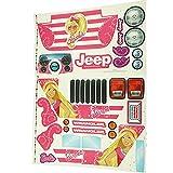 Barbie Jammin Jeep Label Sheet
