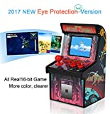 Retro Arcade Machine Mini Arcade Games for kids with 200 Classic Handheld Video Games home Travel Portable Gaming System tiny Toys Novelty Electronics for Boys [ 2017 Eye Protection NEW VERSION]