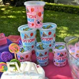 Cotton Candy Tub - Pink and Blue