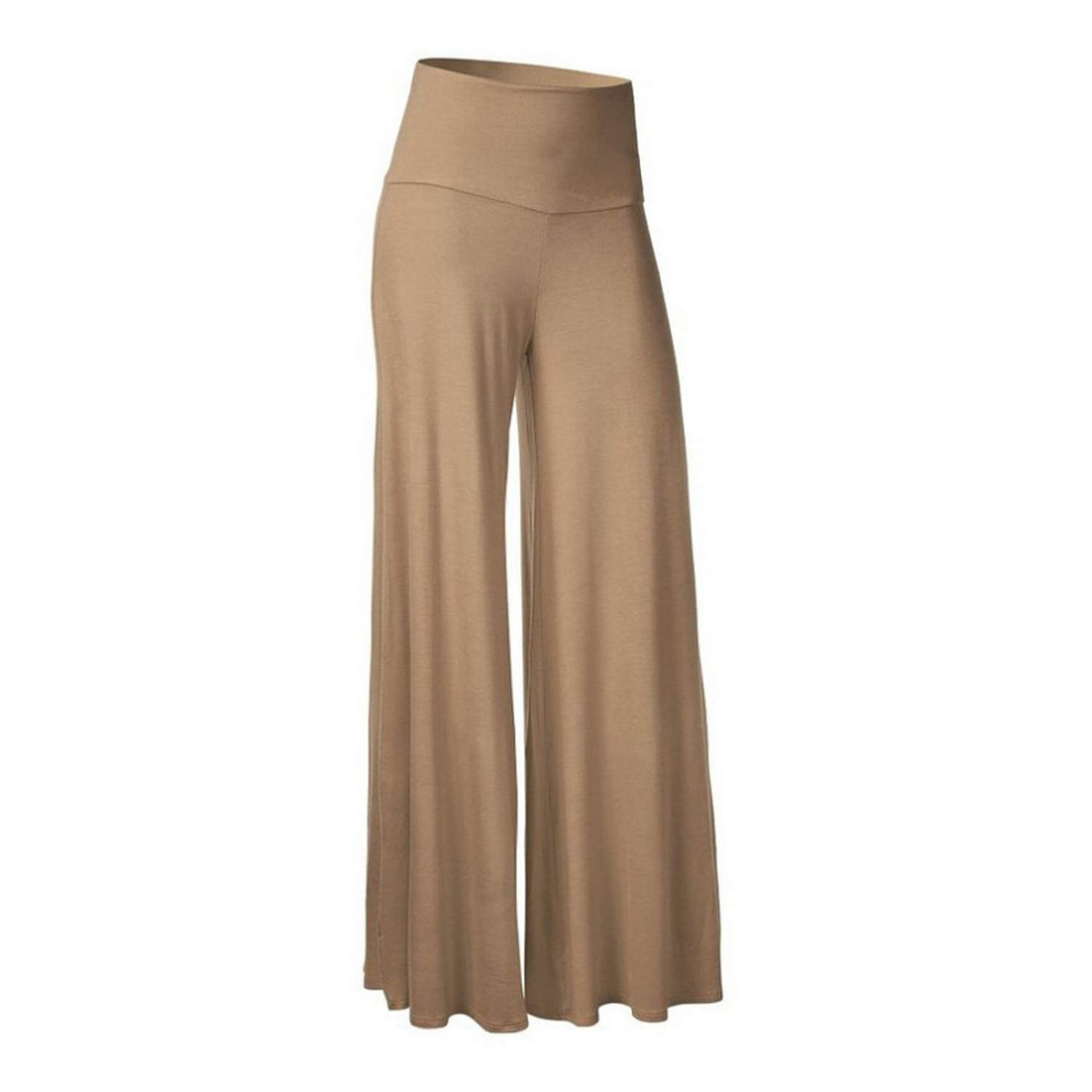 ZFADDS Solid Women Wide Leg Casual Loose Palao Trousers Elegant High Waist Pants 8 Colors Ladies