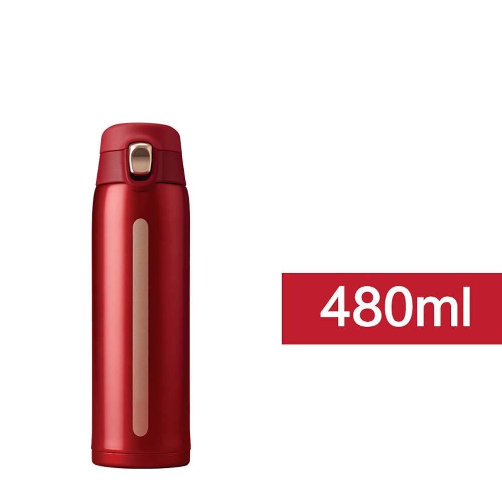 HFDA Thermosbecher Tragbarer Tragbarer Tragbarer Edelstahl-Wassertasse Mit Hoher Kapazität B07M6N2XQ6 Flachmnner Schnäppchen 439705