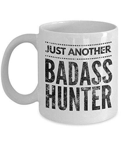 Just Another Badass Hunter Coffee Mug - Cool Coffee Cup
