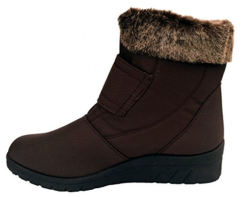 Cushion Walk Thermo-Tex Womens Comfort Fit Winter Boots - CW81 Brown Brown 6ZThUKu